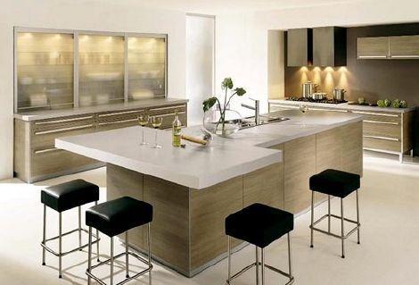 cocina-moderna-funcional2 #cocinasmodernasconisla | Decoracion de ...