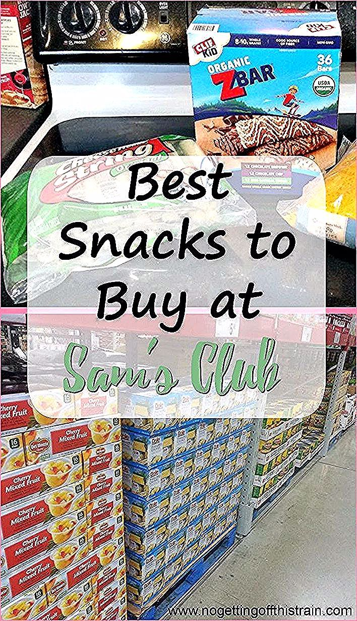 Looking to buy snacks in bulk Here are the best snacks to buy at Sams Club fr