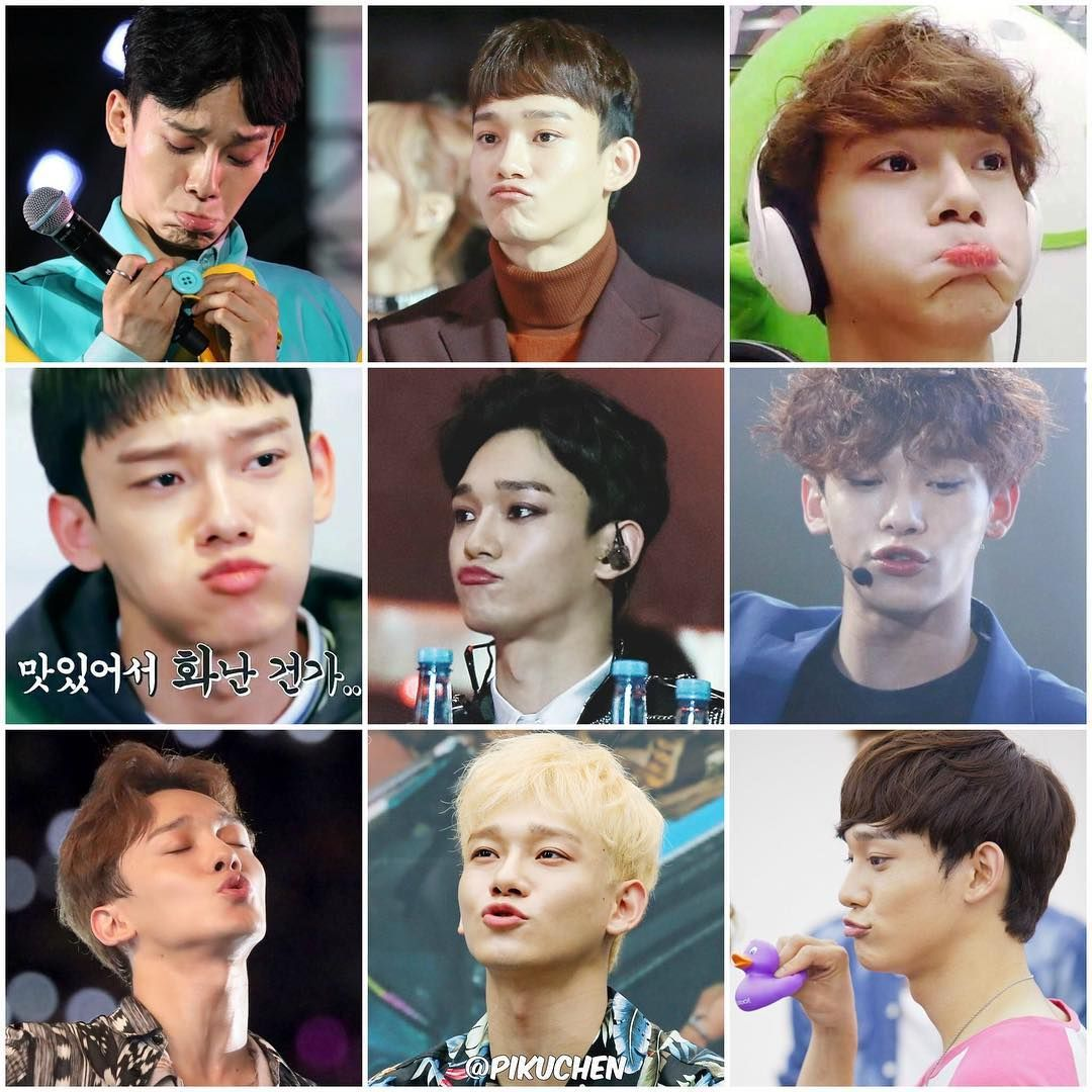 Exo Chen On Instagram Who Could Resist Jongdae S Cutest Pouts