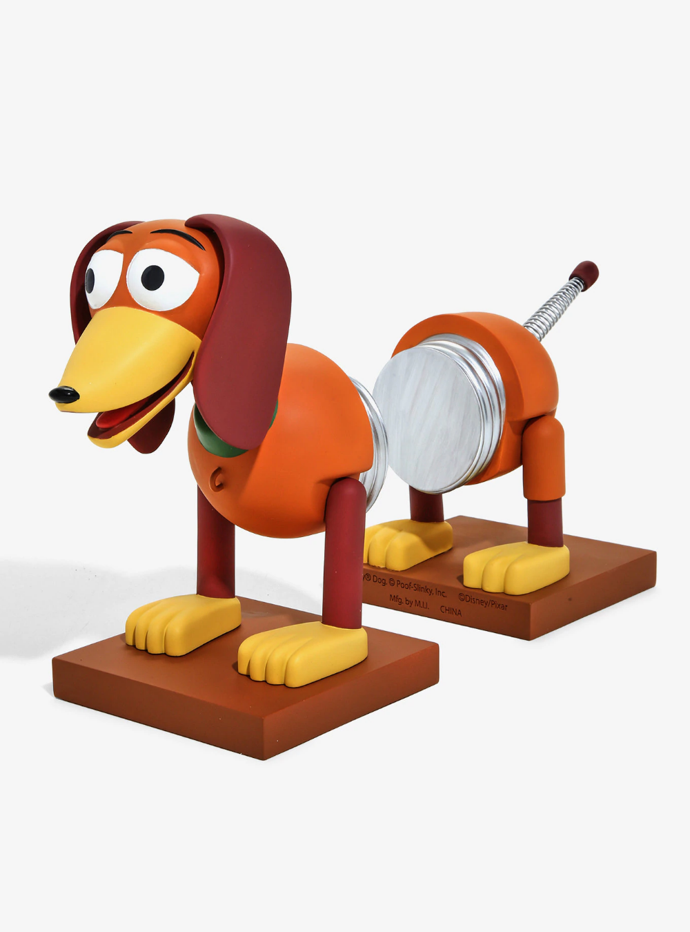 Disney Pixar Toy Story Slinky Dog Bookends Boxlunch Exclusive
