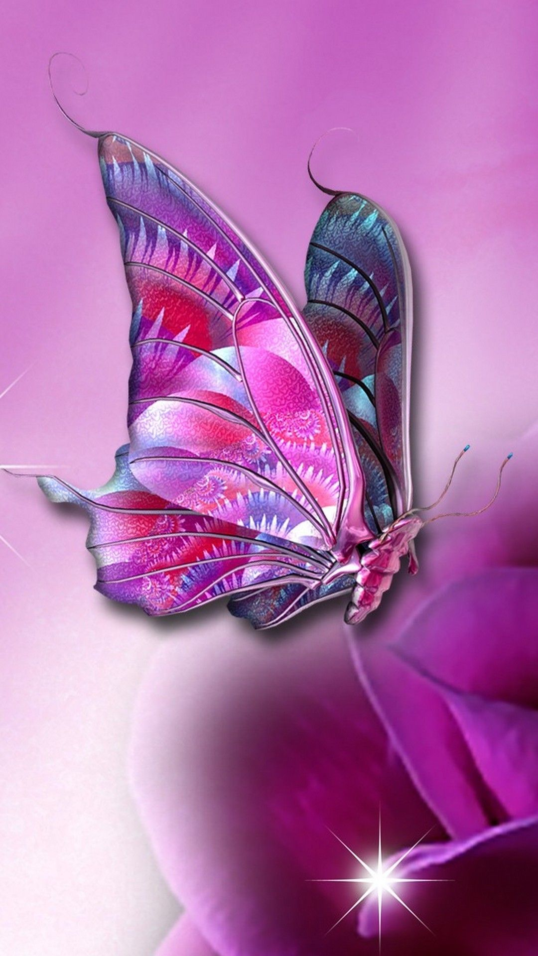 Butterfly Wallpaper For iPhone (With images) Butterfly