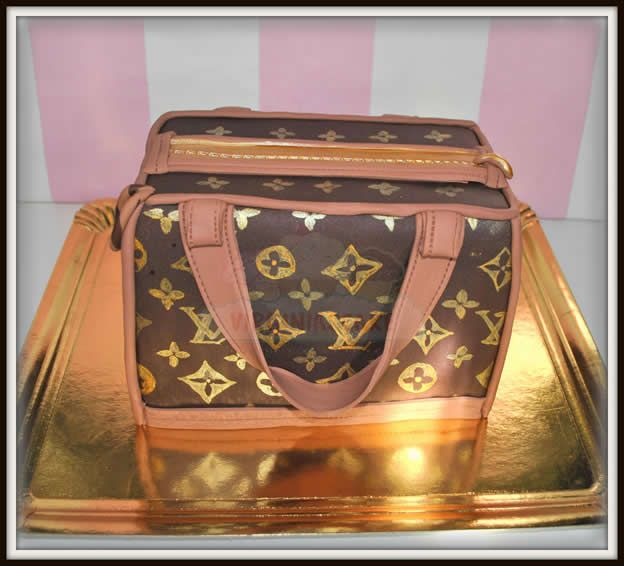 Virginias Cake: Tarta Bolso Louis Vuitton