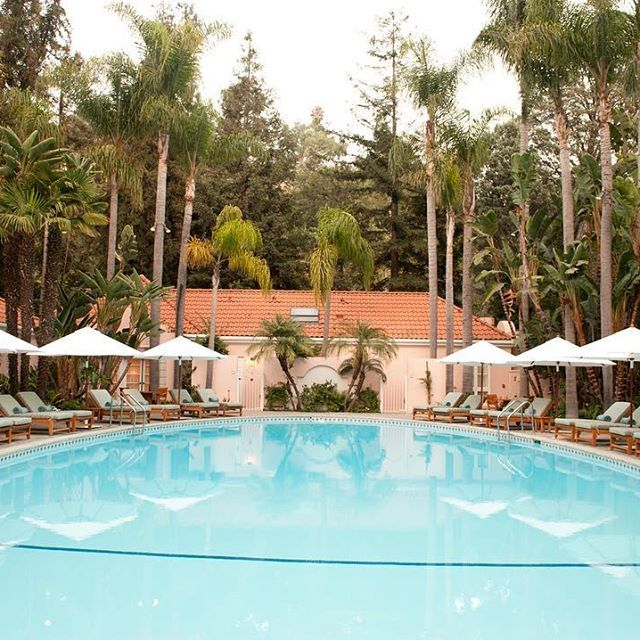 forbestravelguideDid you know the legendary pool at @HotelBelAir was originally a horse-riding ring and later a favorite spot of Marilyn Monroe's? #ForbesTravelGuide Takeover #DCmoments
