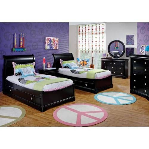 Black Furniture Is Commonly Used In Masculine Adult Designs Amusing Used Bedroom Furniture Review