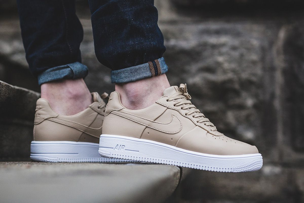 Grab The Nike Air Force 1 Ultraforce Leather In Linen Now