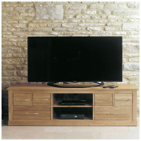 This Oak Six Drawer Television Cabinet is made os solid oak. This Oak Furniture Tv Cabinet has room for a dvd player sky boxsurround sound. & This Oak Six Drawer Television Cabinet is made os solid oak. This ...