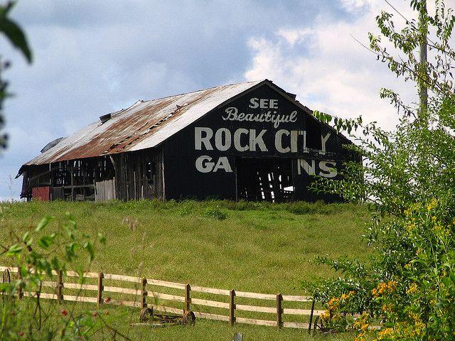 See Beautiful Rock City Gardens City Garden Old Barns