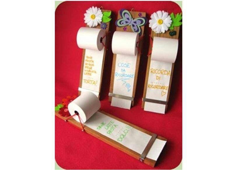 To do list grocery list ect on adding machine tape for Regali per ufficio