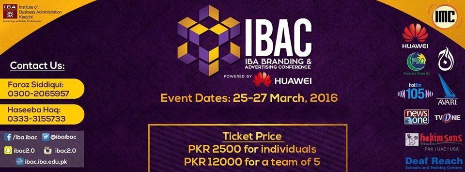 IBA Branding and Advertising Conference A platform where