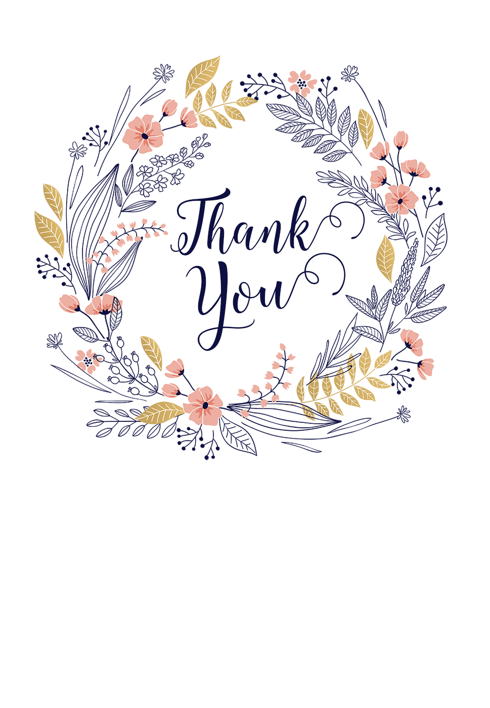 Ever Thankful Thank You Card Template Free Greetings Island Note Card Template Thank You Card Design Printable Thank You Cards