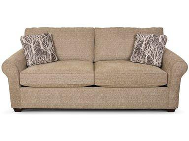 England Seabury Queen Sleeper King Hickory Melrose Fabric Sofa On