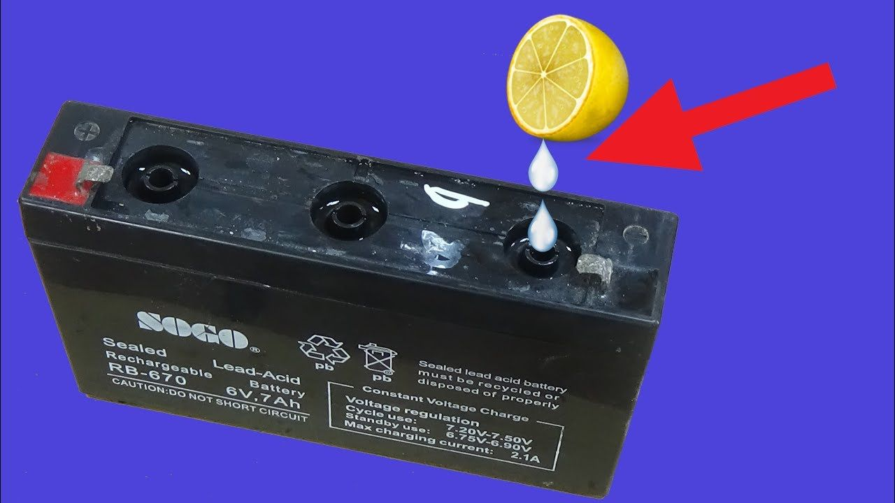How To Recondition A Dry Cell Battery in 2020 Battery