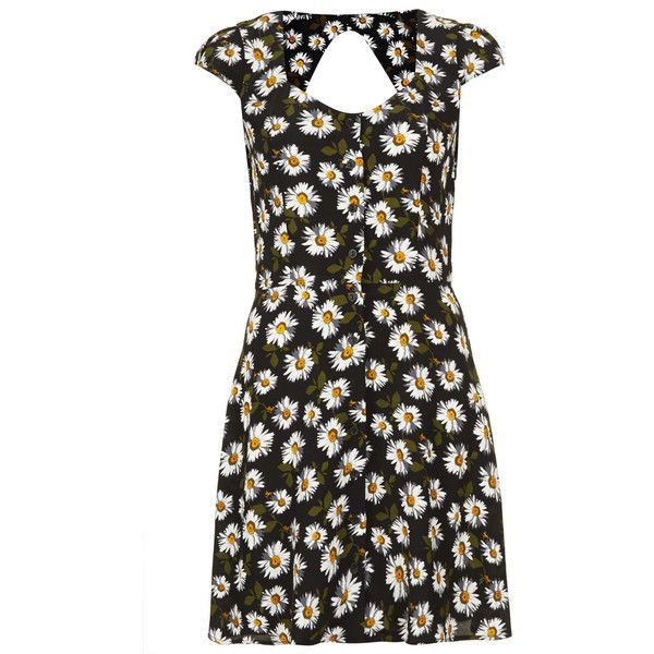 92f97bc8b4 TOPSHOP Daisy Open Back Tea Dress by None