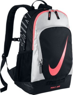 3f076fe5f5c6 Nike Court Tech Backpack Black Metallic Silver Hot Lava - Nike Sport Bags