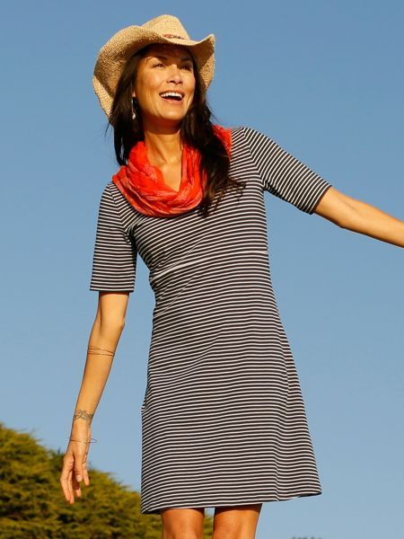 Our Little Striped Dress is a year-round YES!
