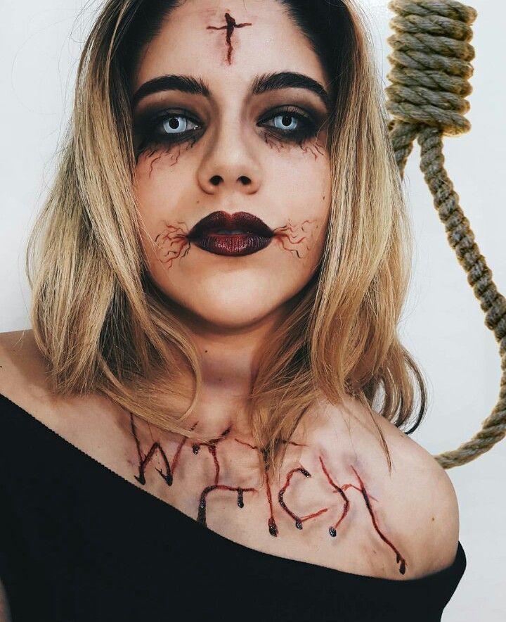 Follow me on instagram: odlen_sita October halloween makeup sfx ...