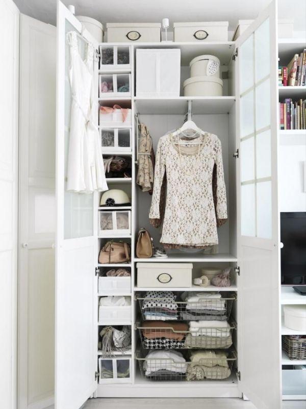 Begehbarer Kleiderschrank für kleines Zimmer - gute Ordnung ist - begehbarer kleiderschrank kleines schlafzimmer