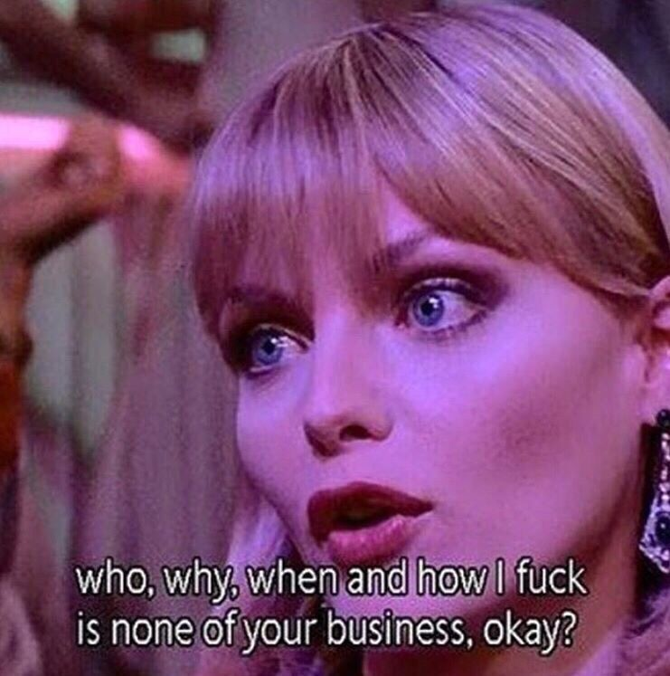 Now Youre Talking To Me Baby Scarface Is My Shit Films