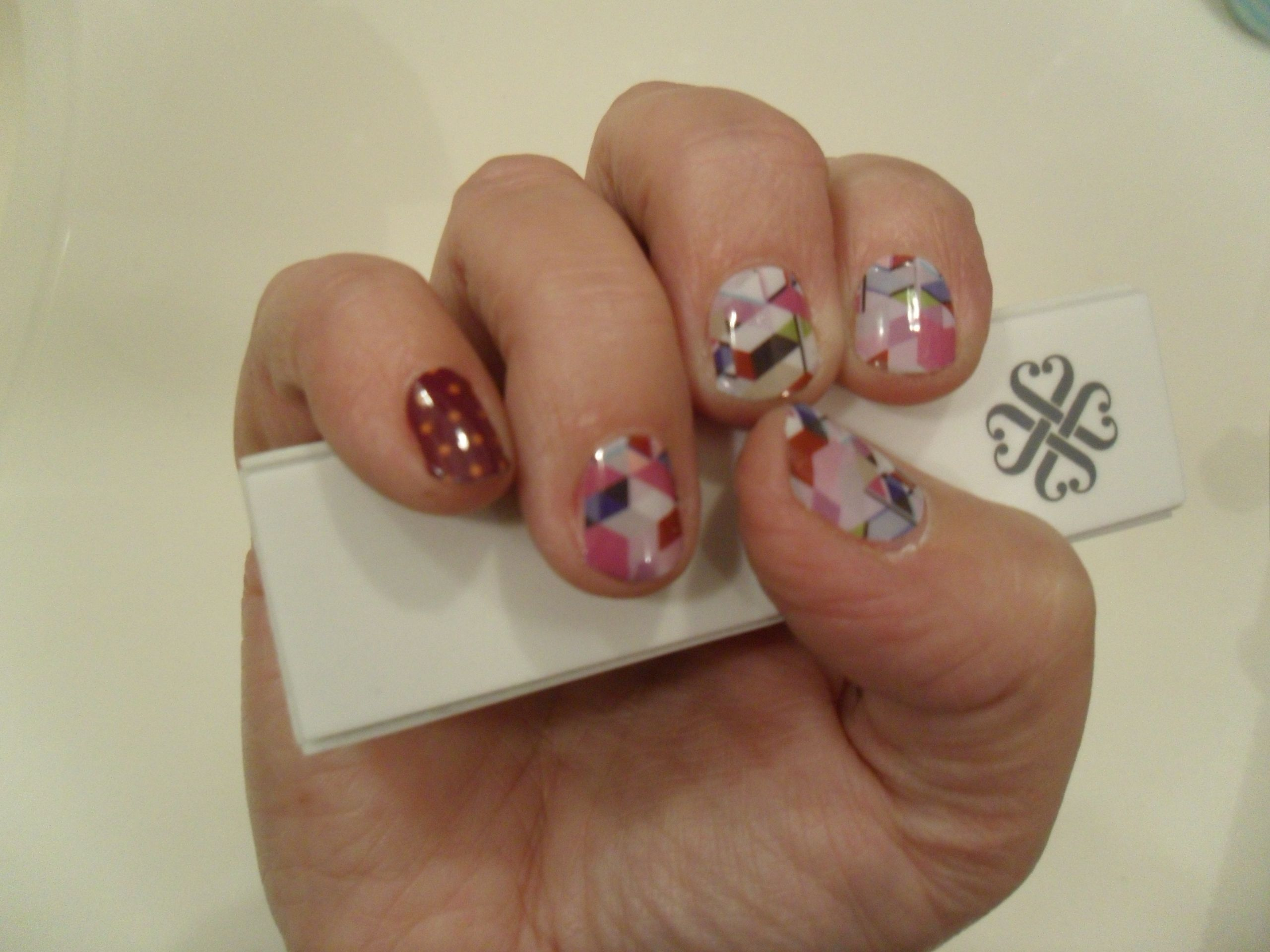 Jamberry Nail Wraps - Amazing! No dry time, no chipping, lasts for 2 ...
