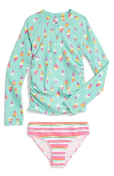 a03e7faee7 Tucker + Tate Two-Piece Rashguard Swimsuit (Toddler Girls, Little Girls &  Big Girls) Nordstrom Was: $36.00 Now: $21.60 40% OFF Item #5006740