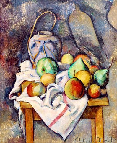Paul Cézanne - La vase paille