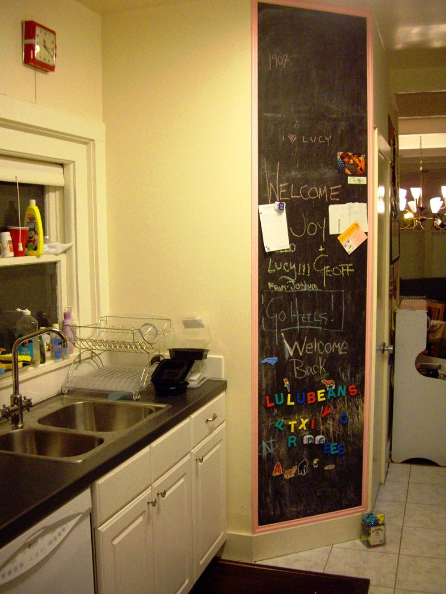 Awesome Chalkboard Kitchen Wall Ideas Gallery - The Wall Art ...