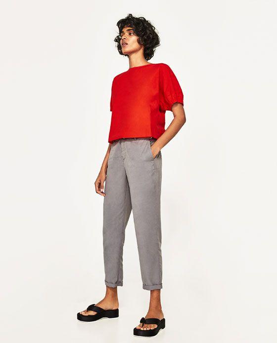 Pantalon Chino Con Cinturon Basso Pinterest Pantalon Chino
