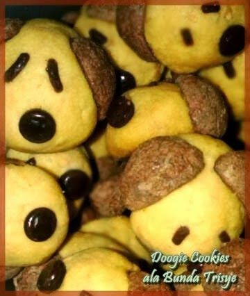 Dapur Bubun Doggie Cookies Resep Masakan Kue Kering Pastry