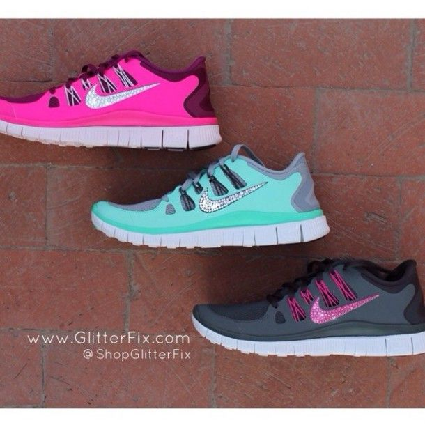 nike tennis shoes with sparkle