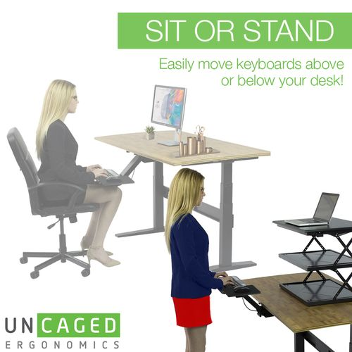 Kt2 Adjustable Standing Desk Keyboard Tray Standing Desk Keyboard Tray Best Standing Desk Standing Desk