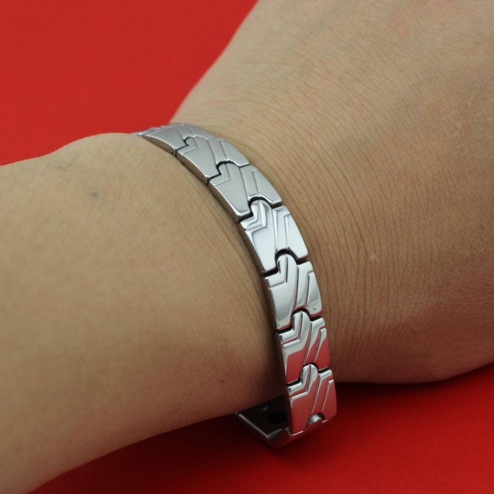 new hot bagle fashion silver womenmenus power germanium