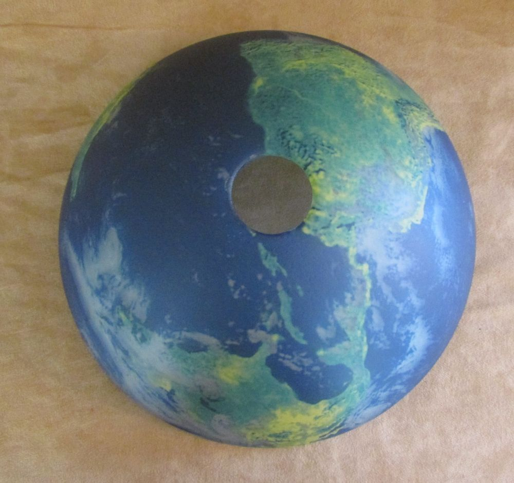 Glass ceiling lamp shade world globe map light fixture cover blue glass ceiling lamp shade world globe map light fixture cover blue earth aloadofball Image collections