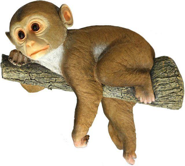 Dekofigur Affe Hangt Am Ast Wandhanger In 2020 Tiere