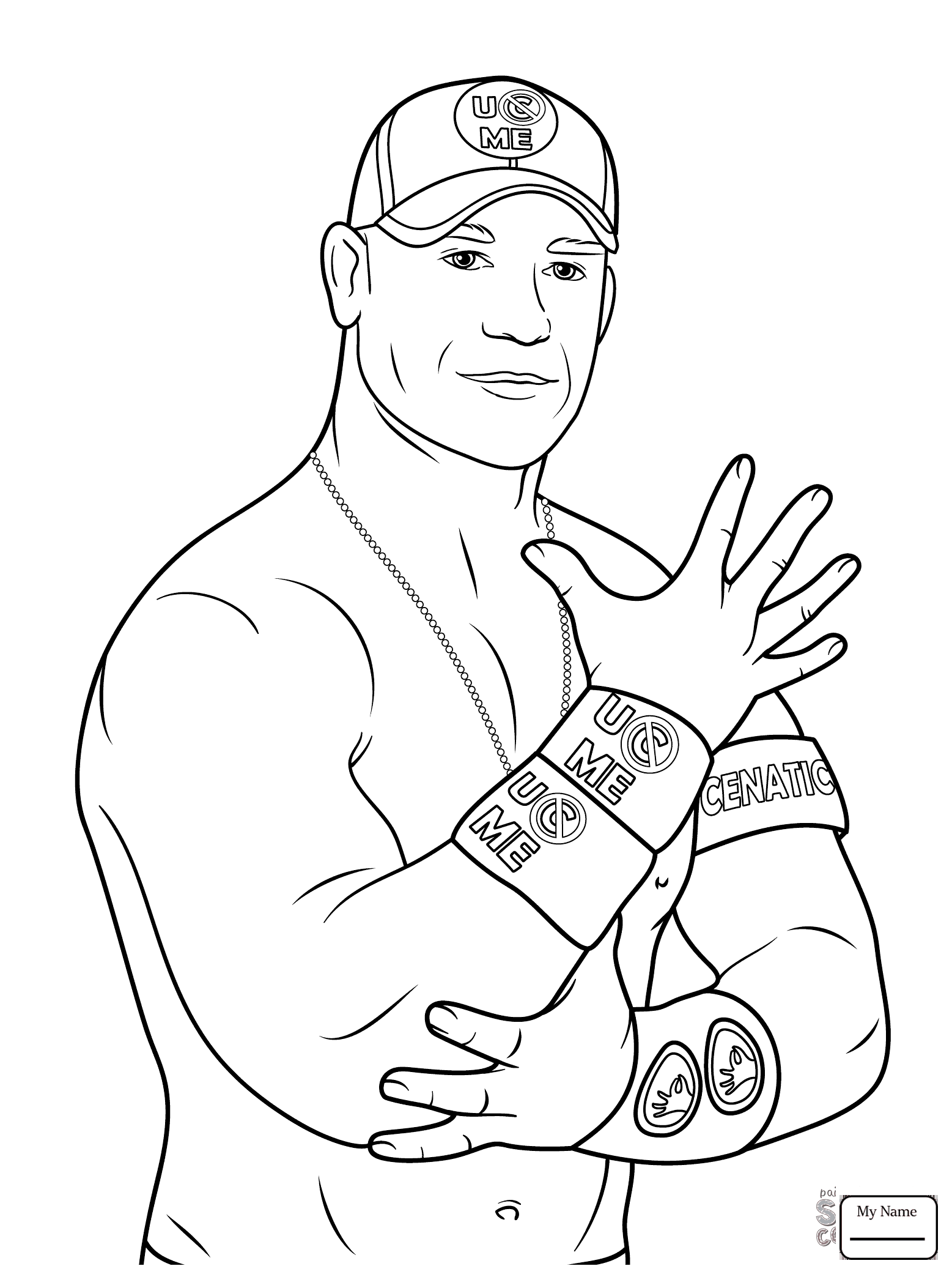 #brock #coloring #lesnar #pages #2020 | Wwe coloring pages ...