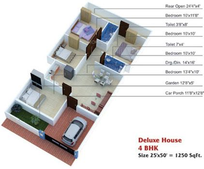 House Plan 25 X 50 Sq Ft Google Search Home House Plans