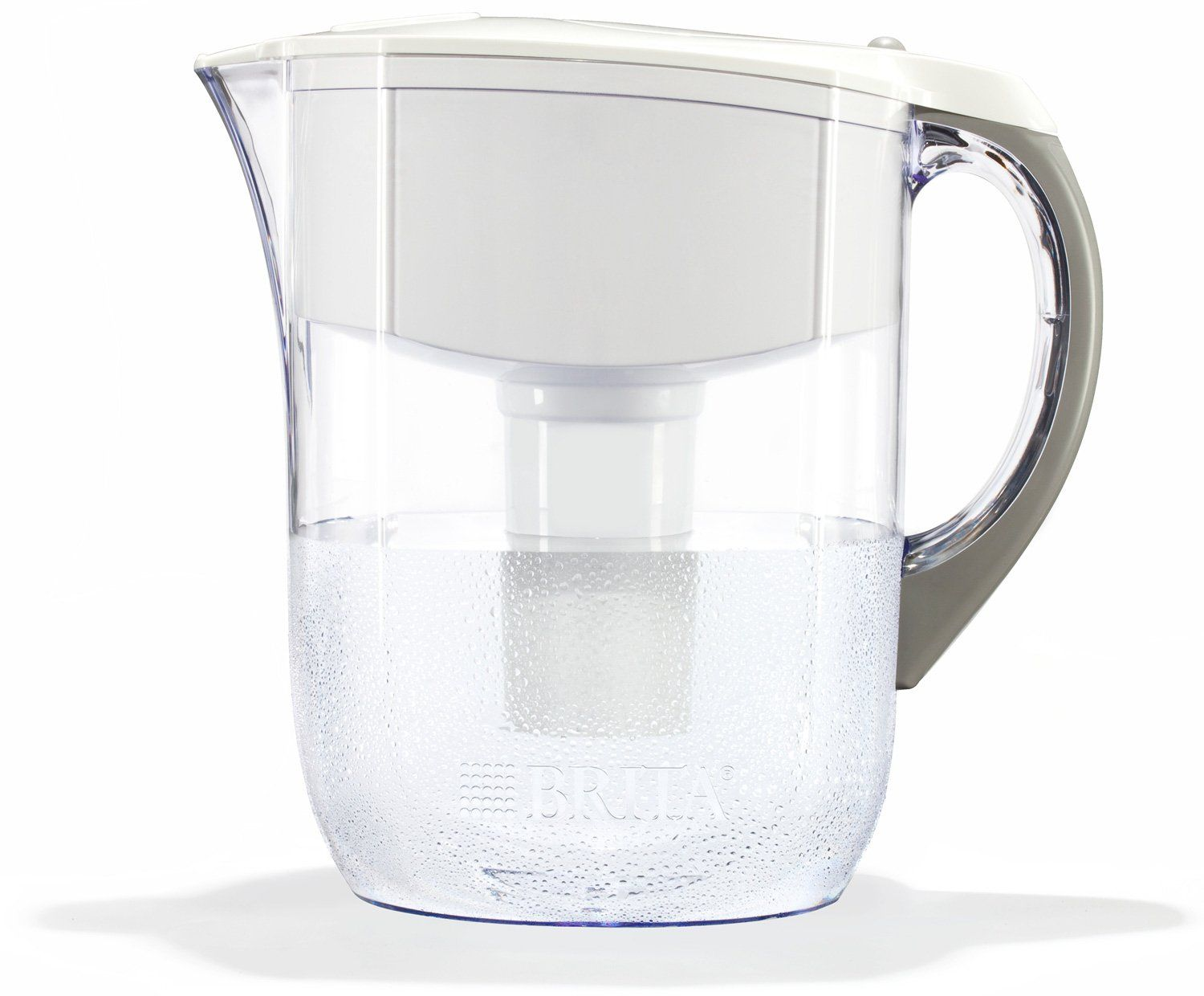 Brita Large 10 Cup Water Filter Pitcher with 1 Standard