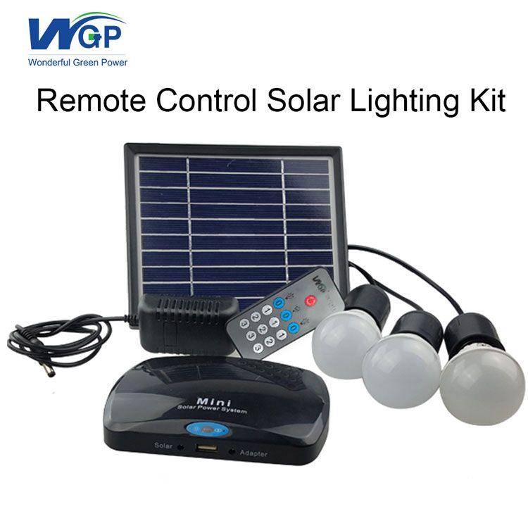 portable home use small solar led light solar system solar energy ...