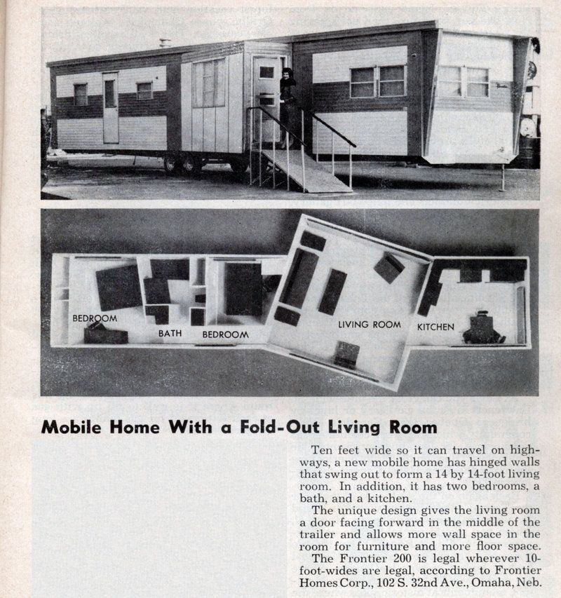 Vintage Mobile Homes Throwback Thursday Issue 2 Mobile Home Floor Plans Manufactured Homes Floor Plans Mobile Home