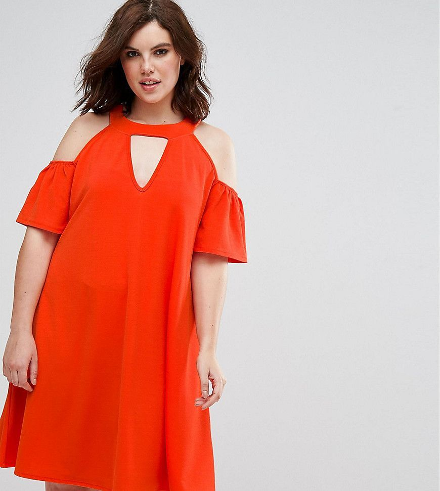 Orange dress casual  Get this Pink Cloveus casual dress now Click for more details