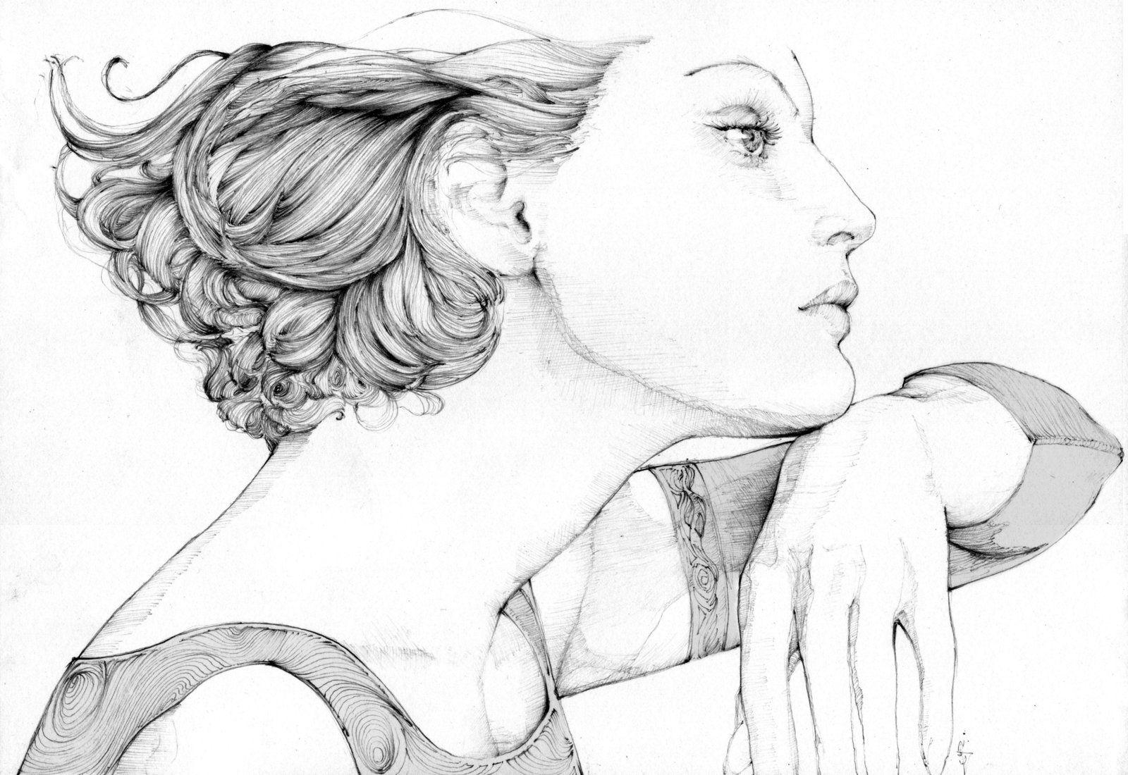 Mind is a razorblade - Guinevere Van Seenus by grafnarq.deviantart.com on @deviantART