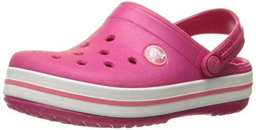 crocs Crocband Clog Kids, Unisex-Kinder Clogs, Violett (Vibrant Violet), 25/26 EU