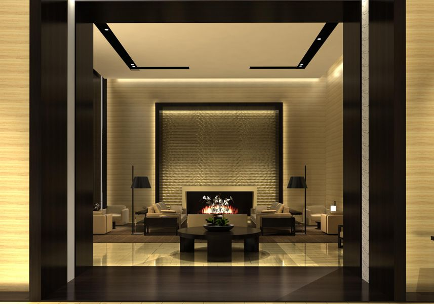 Boutique Hotel Entry Lobby L2ds Lumsden Leung Design