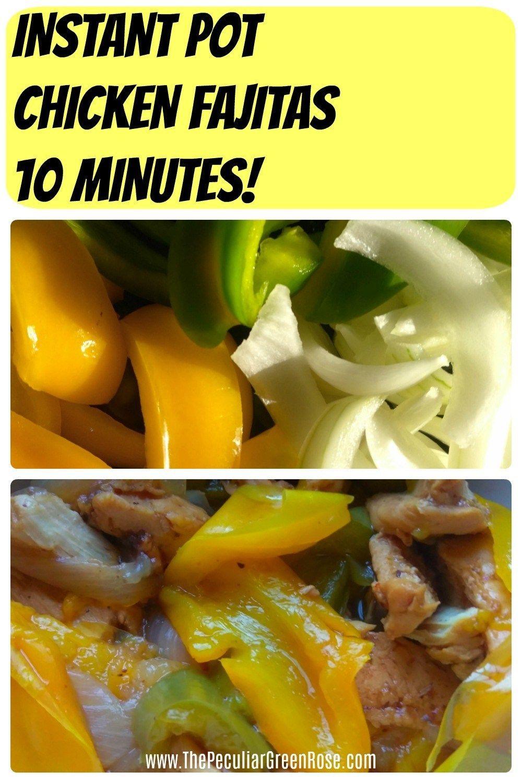 Instant Pot Chicken Fajitas images