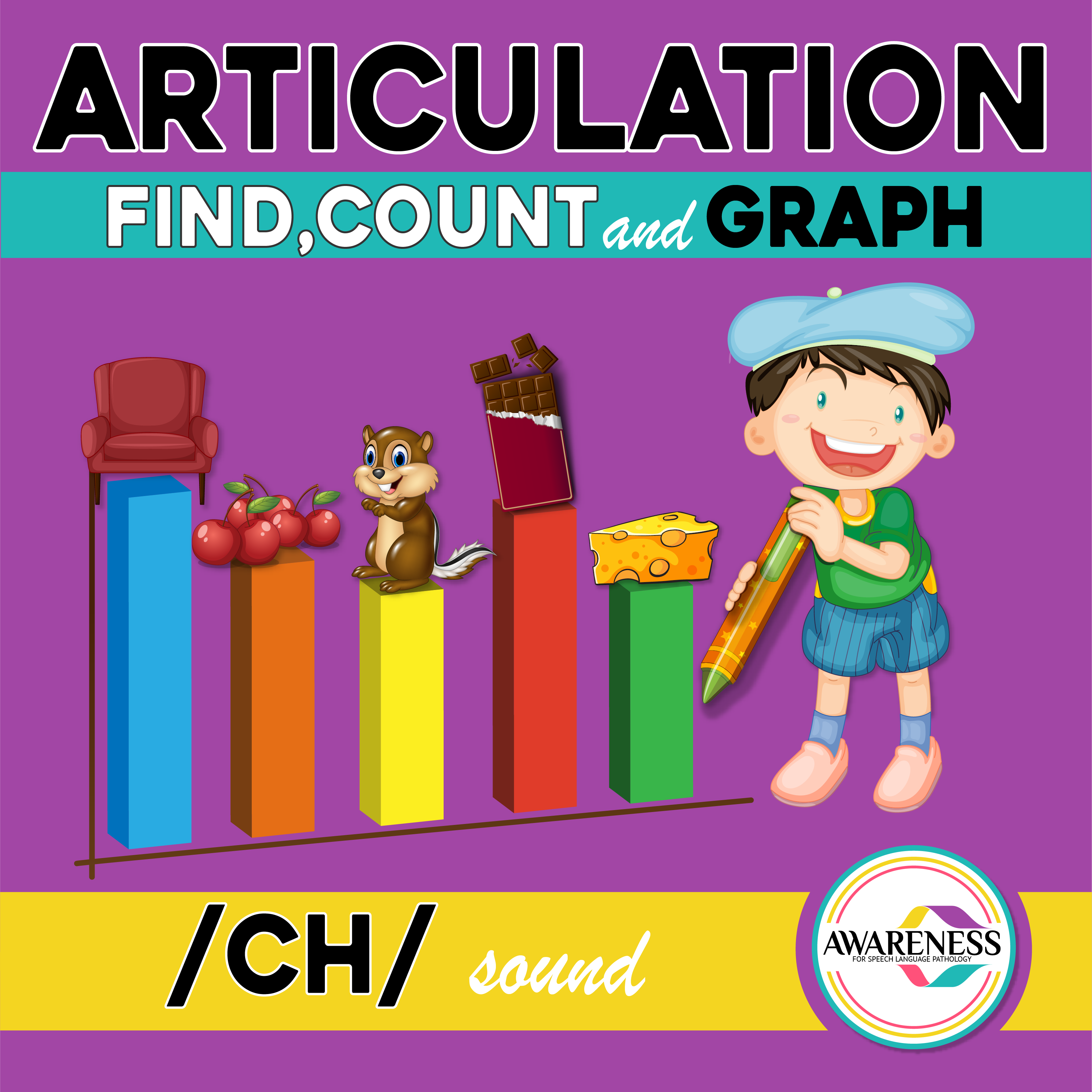 Ch Articulation Activity Worksheets For Speech Therapy