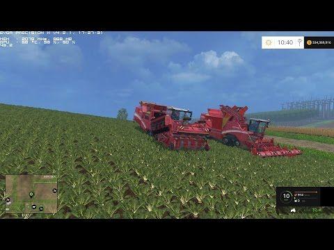 Farming Simulator 2015 Episode 20 Sugar Beet Harvesting With Courseplay Farming Simulator Farming Simulator 2015 Sugar Beet