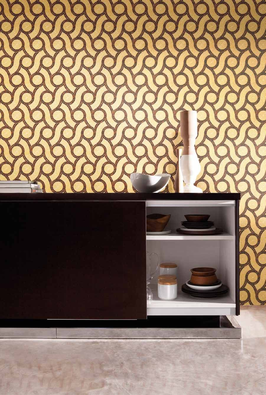Bisazza #Decorations ad Andamento Plait brown   Feinsteinzeug   im ...