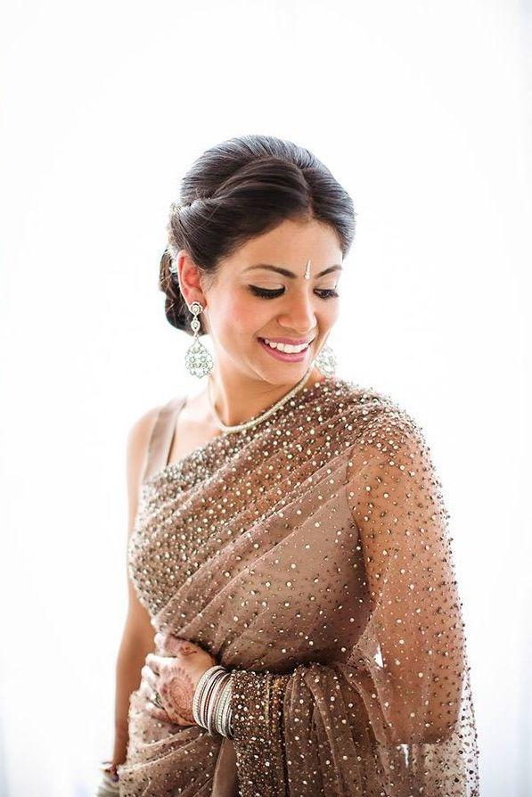 how to wear saree in north indian style video