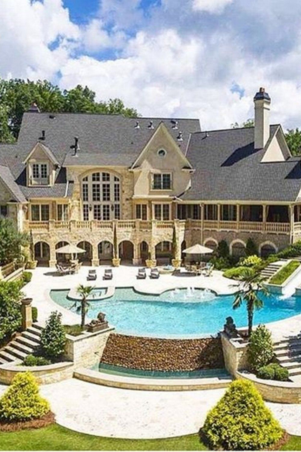 House Beautiful Large Living Rooms: House, Dream Mansion