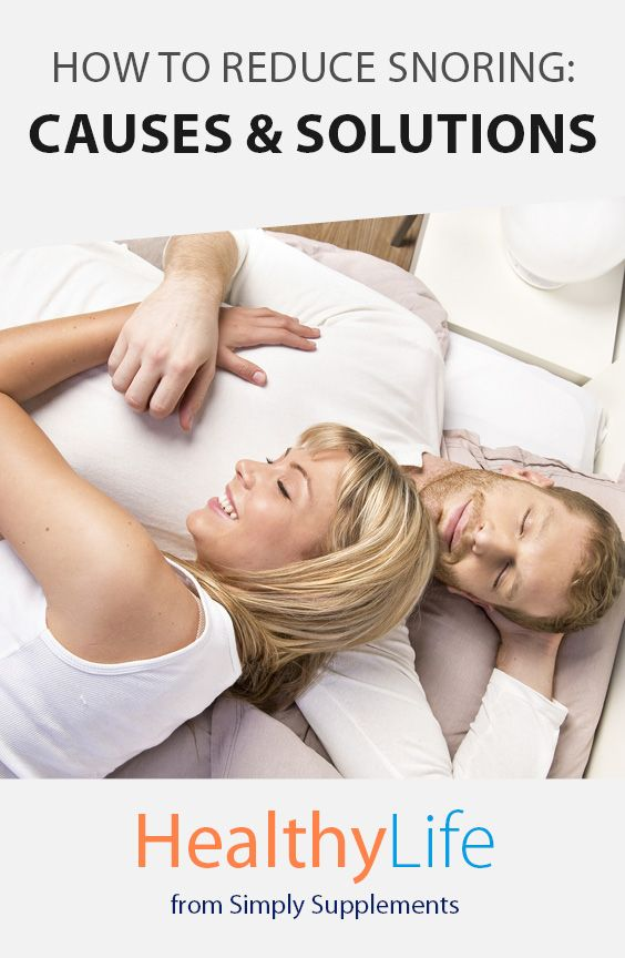 How to Reduce Snoring: Causes and Solutions - Healthy Life   Did you know, as many 1 in 4 people in England snore regularly. Take a look at our expert tips, from snoring remedies to possible causes.
