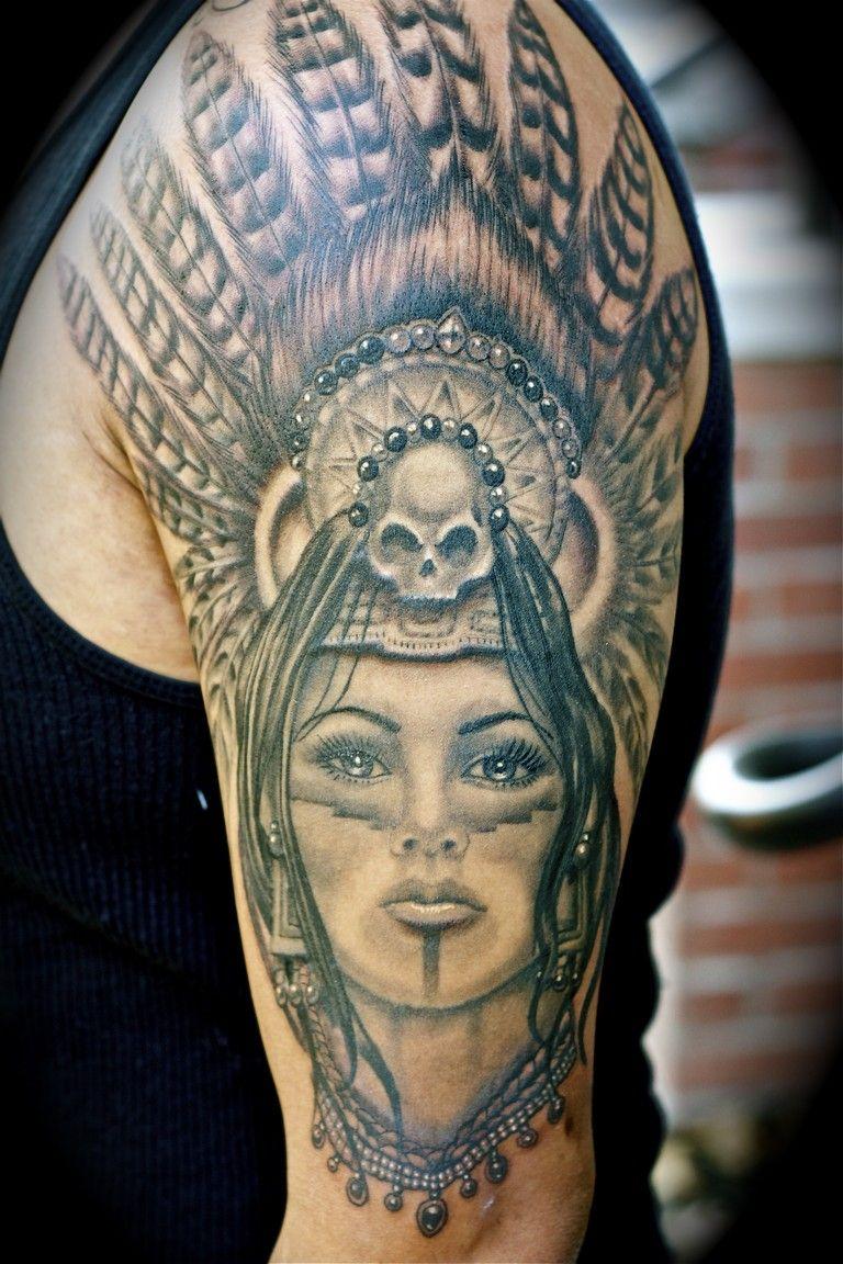 c6284c3ce aztec princess tattoos 732 | Piercings and tattoos. | Tattoos, Aztec ...